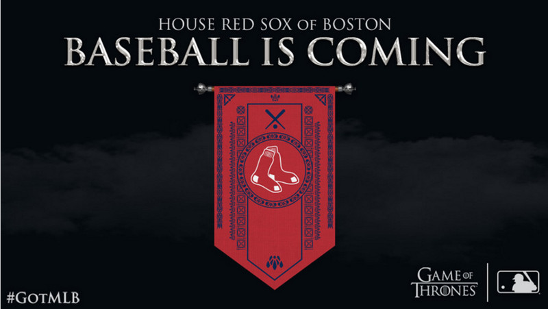 Image result for Game of Thrones Red Sox