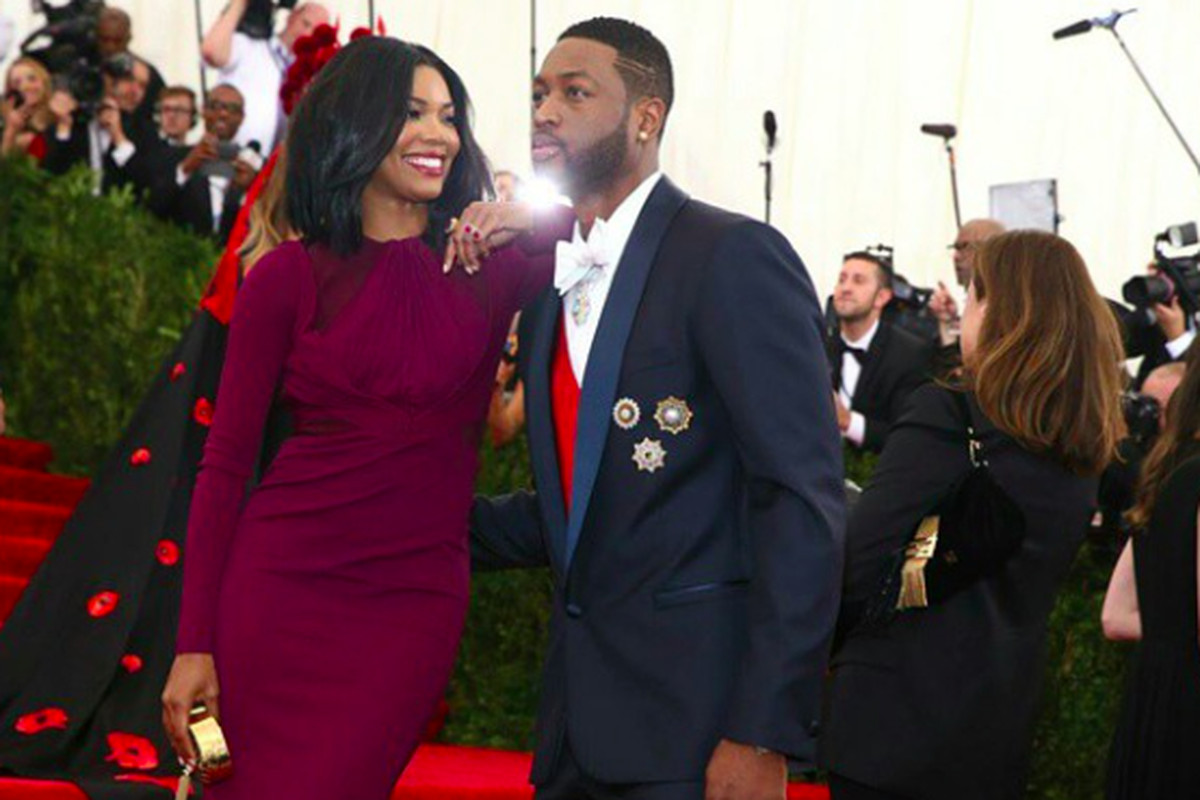 Dwyane Wade and Gabrielle Union attend the MET Gala - Hot