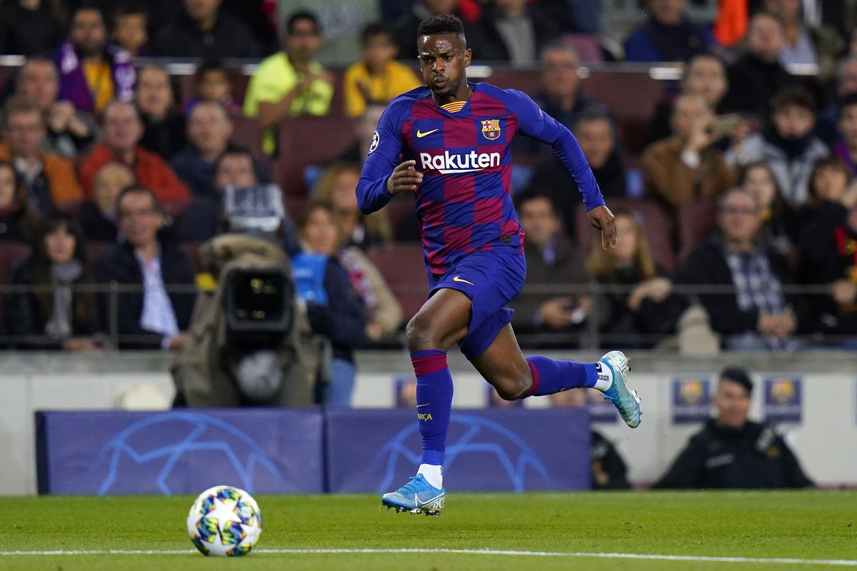 Barcelona's Nelson Semedo forced off against Celta with calf problem