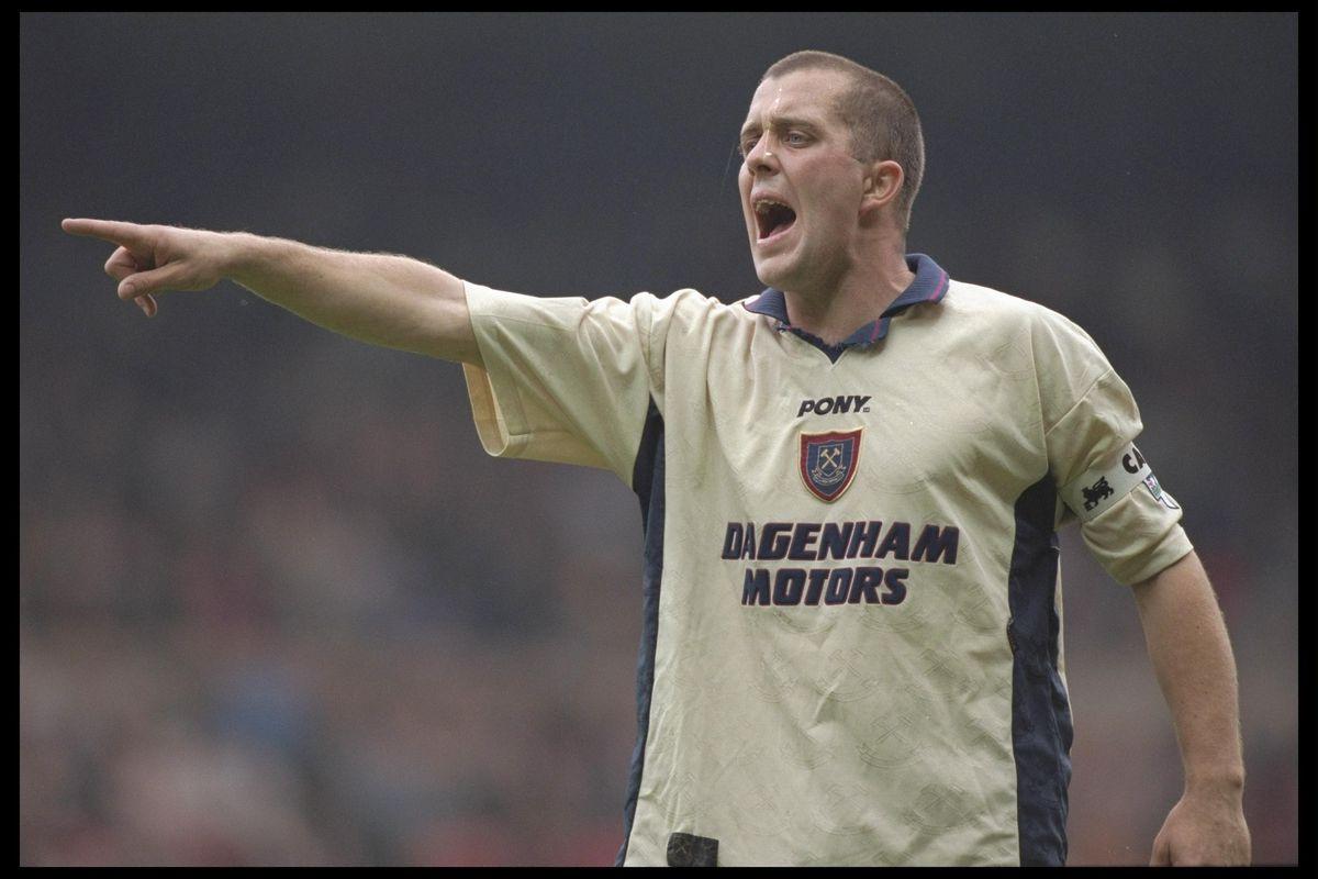 Julian Dicks of West Ham