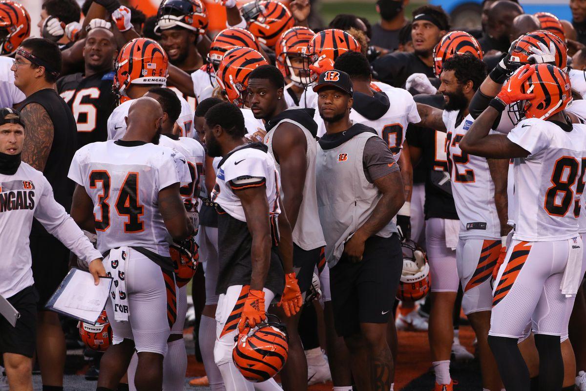 NFL: AUG 30 Bengals Training Camp