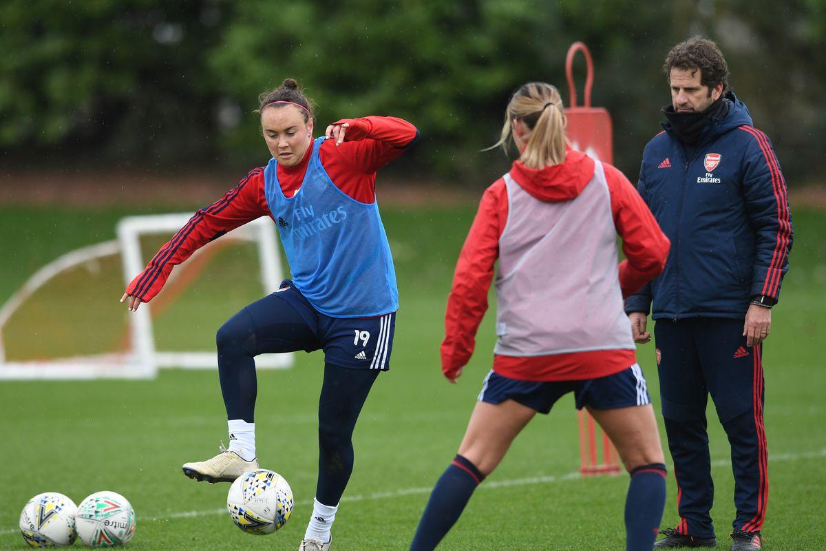 Arsenal Womens Training Session