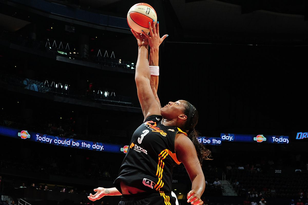 Courtney Paris led the WNBA in rebounding this season and deserves strong consideration for the Most Improved Player award.