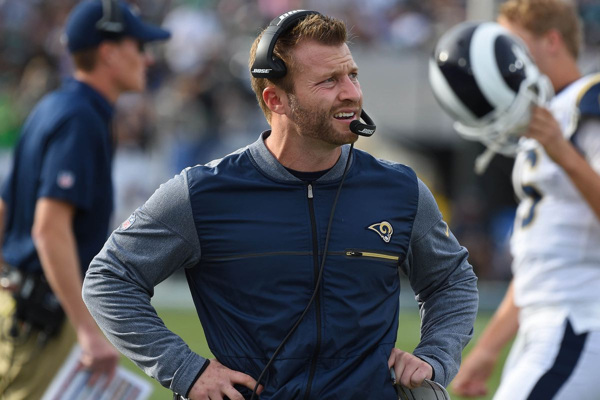 Image result for sean mcvay rams