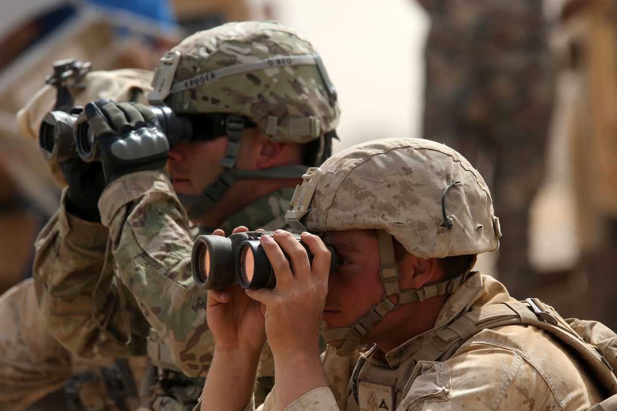 Compined Armed Forces Show Skills In Operation Eager Lion