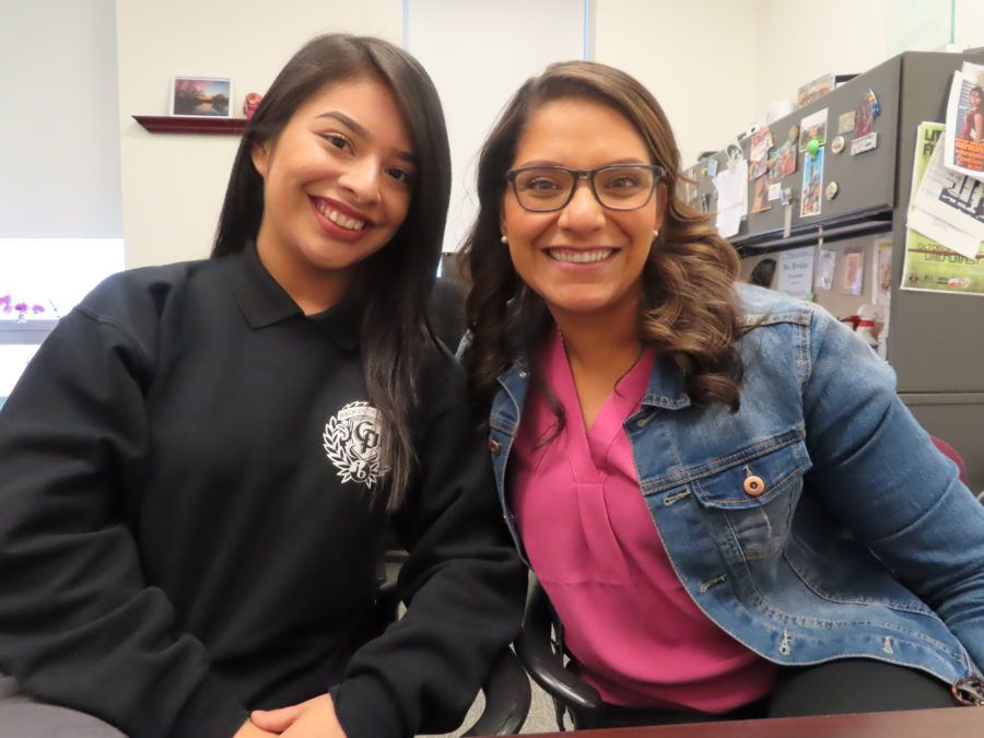 Back of the Yards College Prep senior Daniela Rendon wants to join her favorite teacher Nancy Guzman among the ranks of Latino teachers, whose numbers are disproportionately low at Chicago schools compared to student demographics.