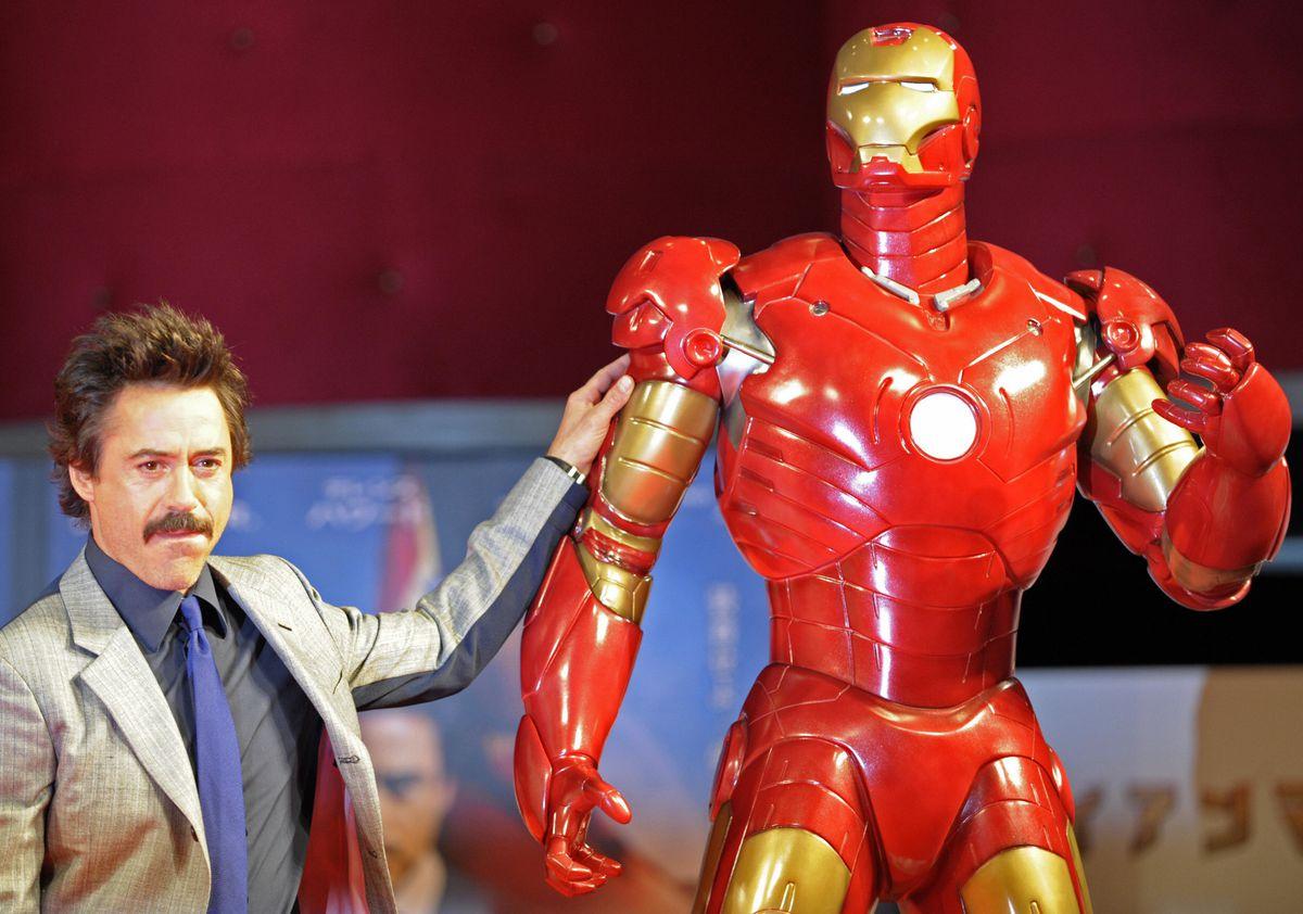 Tony Stark with Keith Yandle?