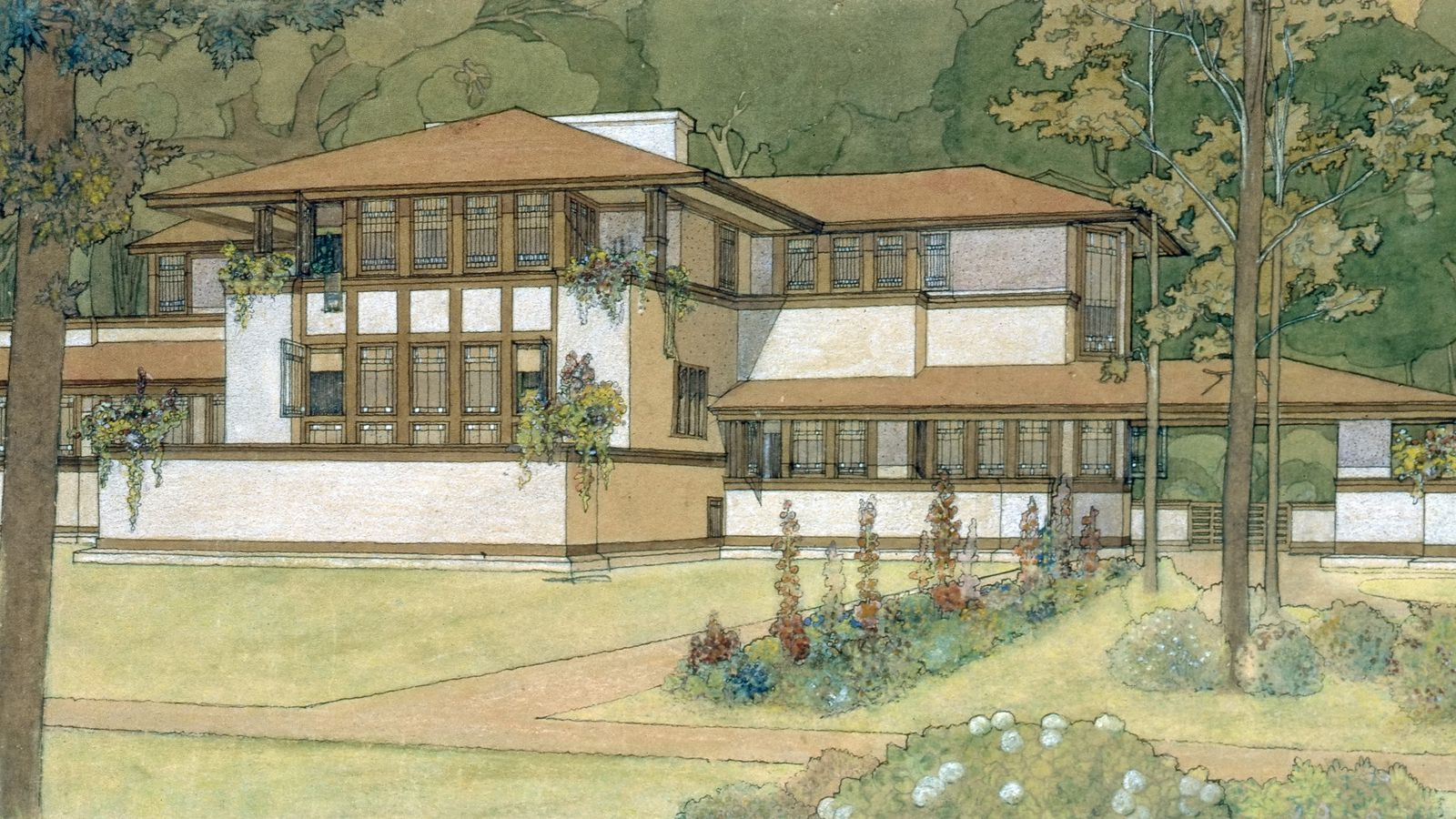 the life and contributions of frank lloyd wright 10 things you didn't know about frank lloyd wright  although his  contributions to american architecture are by far his greatest, he also.