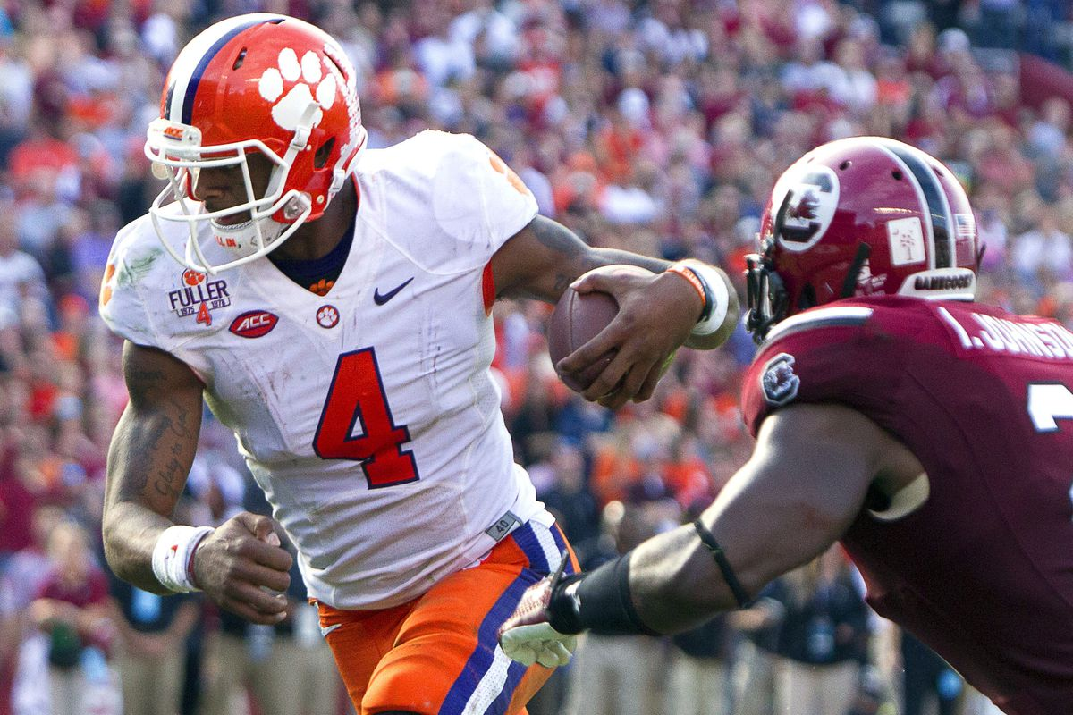 Deshaun Watson and Clemson are in a win-and-you're-in situation on Saturday.