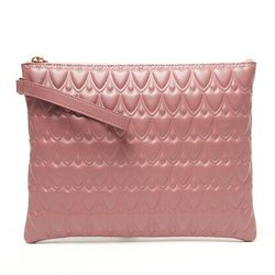 """<b>Reece Hudson</b> Bowery Pouch in Rose, <a href=""""http://www.kirnazabete.com/sale/bowery-pouch-1#"""">$118</a> (from $295) at Kirna Zabete"""