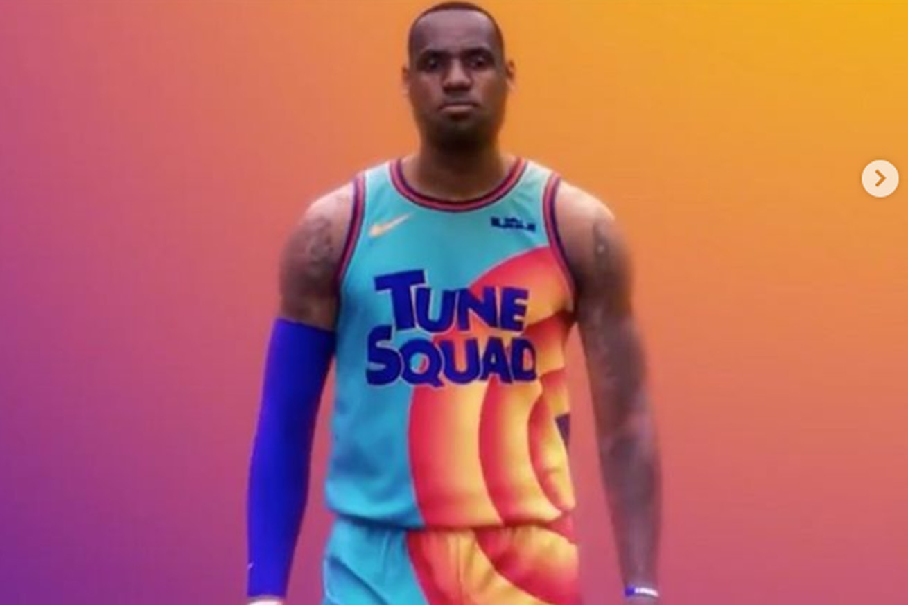 Untitled.0 - The new 'Space Jam' jerseys went a bit too far