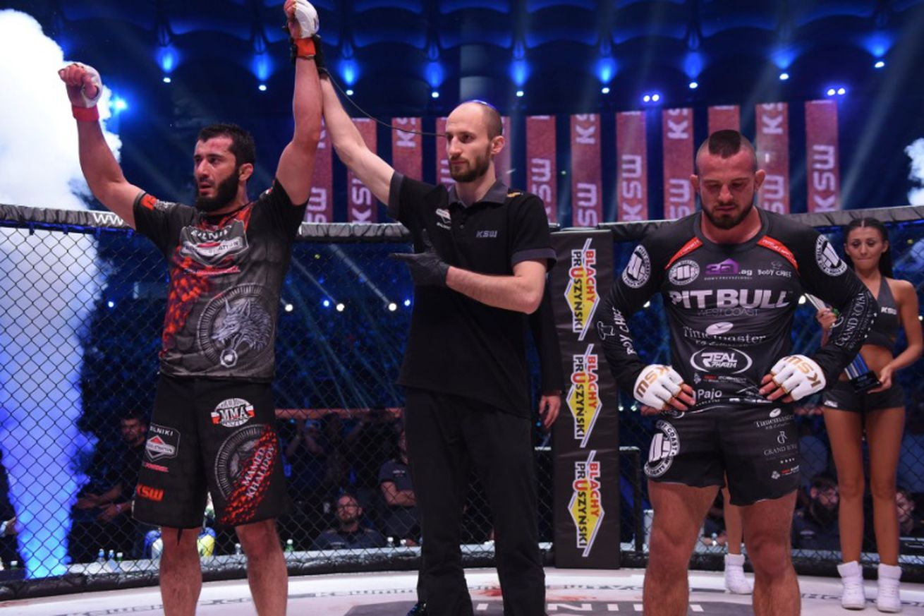 KSW 39 results: Mamed Khalidov defeats Borys Mankowski in front of record crowd