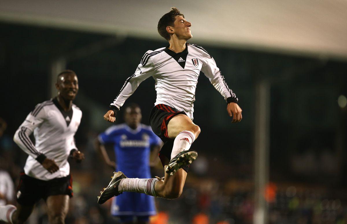 Fulham U18 v Chelsea U18 - FA Youth Cup Final: First Leg