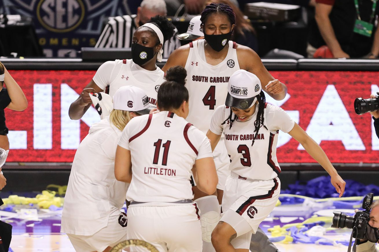 Gamecock women win sixth SEC Tournament title in seven years