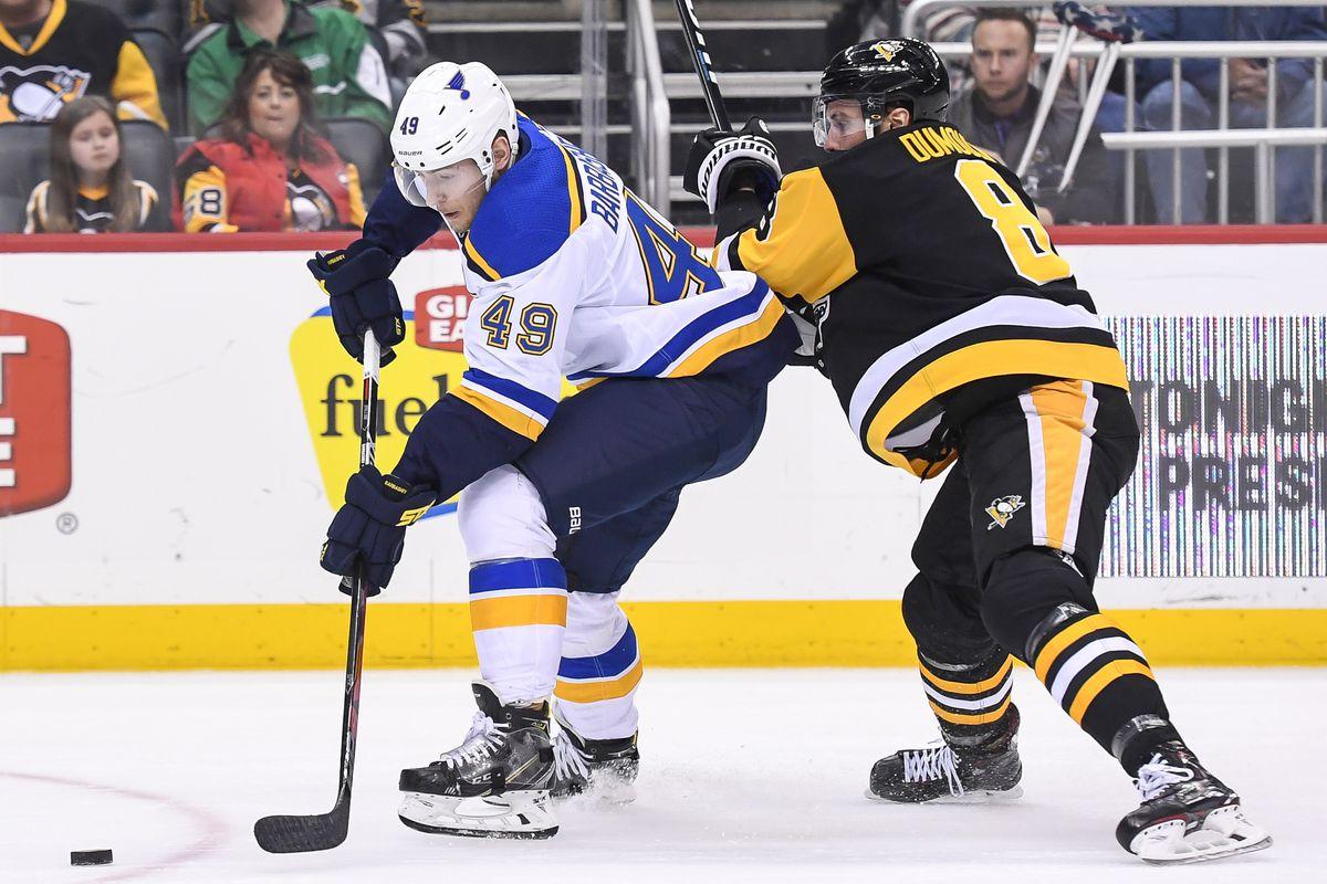 NHL: MAR 16 Blues at Penguins