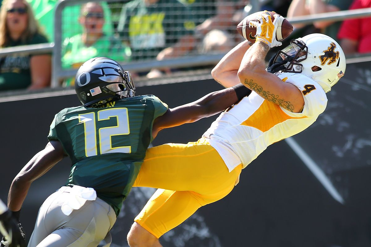 hot sales 1904d 5f063 Wyoming football: WR Tanner Gentry is completely healthy ...