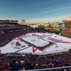 Another Nationals Park Winter Classic Shot