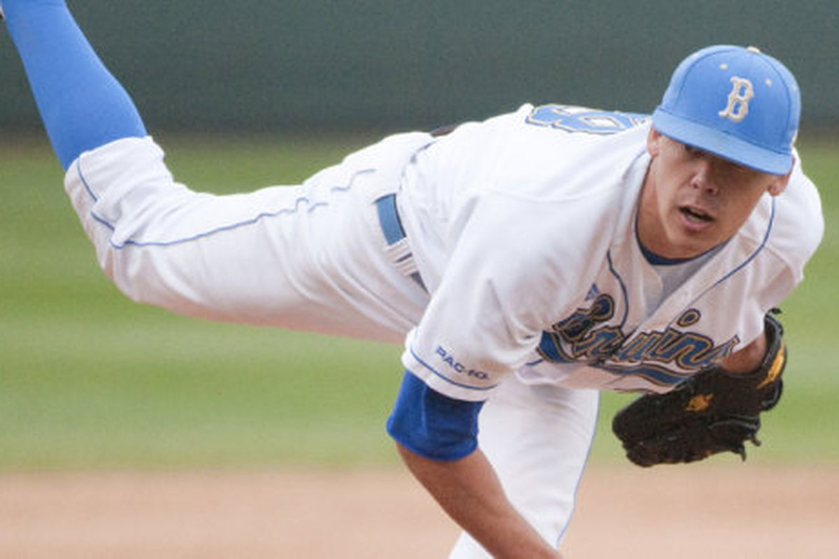 Garett Claypool's solid outing was not enough for the Bruins in Irvine (Photo Credit: Official Site)