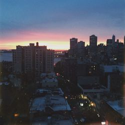 After dinner we rush up to the roof and catch the sunset for the perfect nightcap, Negronis in hand.