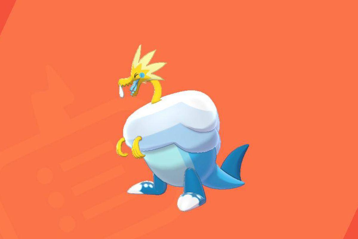 An Arctozolt in Pokémon Sword and Shield