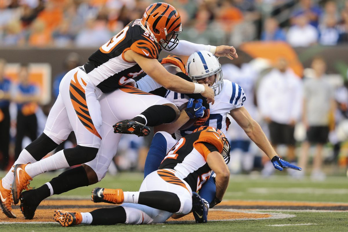 Nfl week 8 bengals vs colts odds expert picks analysis aaron doster usa today sports publicscrutiny Image collections