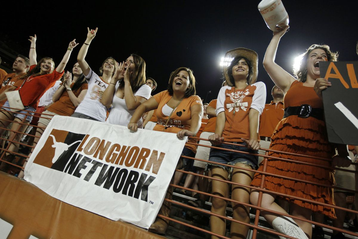 Meet the ten jubiliant people who've been able to watch Texas football on the Longhorn Network!