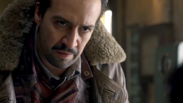 Lin-Manuel Miranda is the aeronaut Lee Scoresby in <em>His Dark Materials.</em>