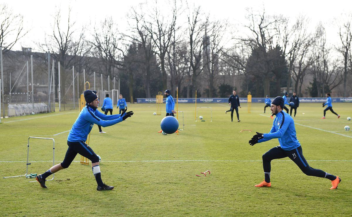 Hertha BSC training session