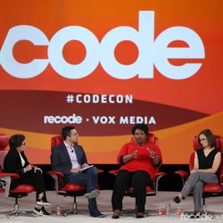 Kara Swisher (Editor at large, Recode), Ezra Klein (Co-founder, editor at large, Vox.com), Stacey Abrams (Founder, Fair Fight),Lauren Groh-Wargo (CEO, Fair Fight Action)