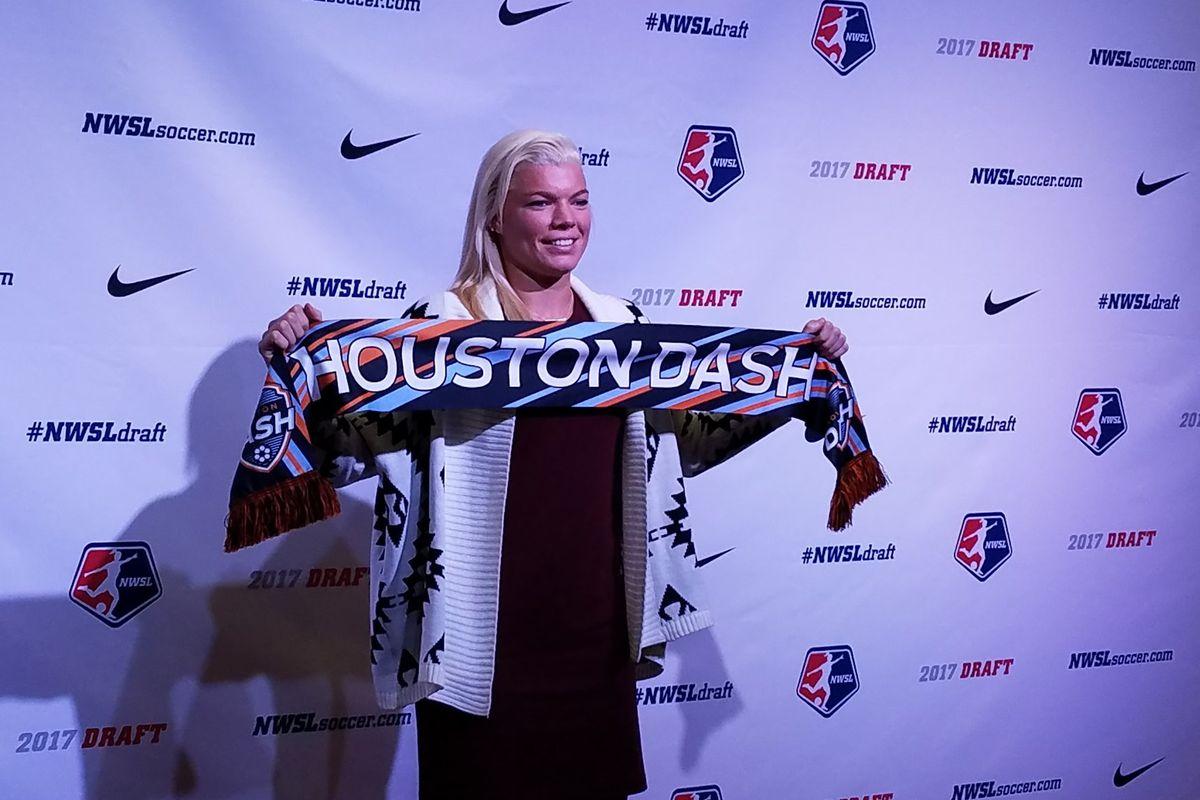 Houston Dash draftee Jane Campbell