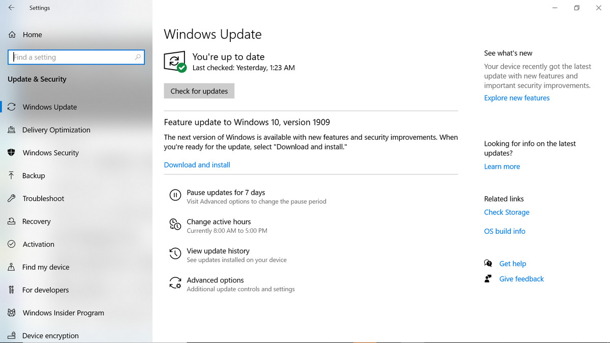 Windows 10 Basics How To Pause Updates The Verge