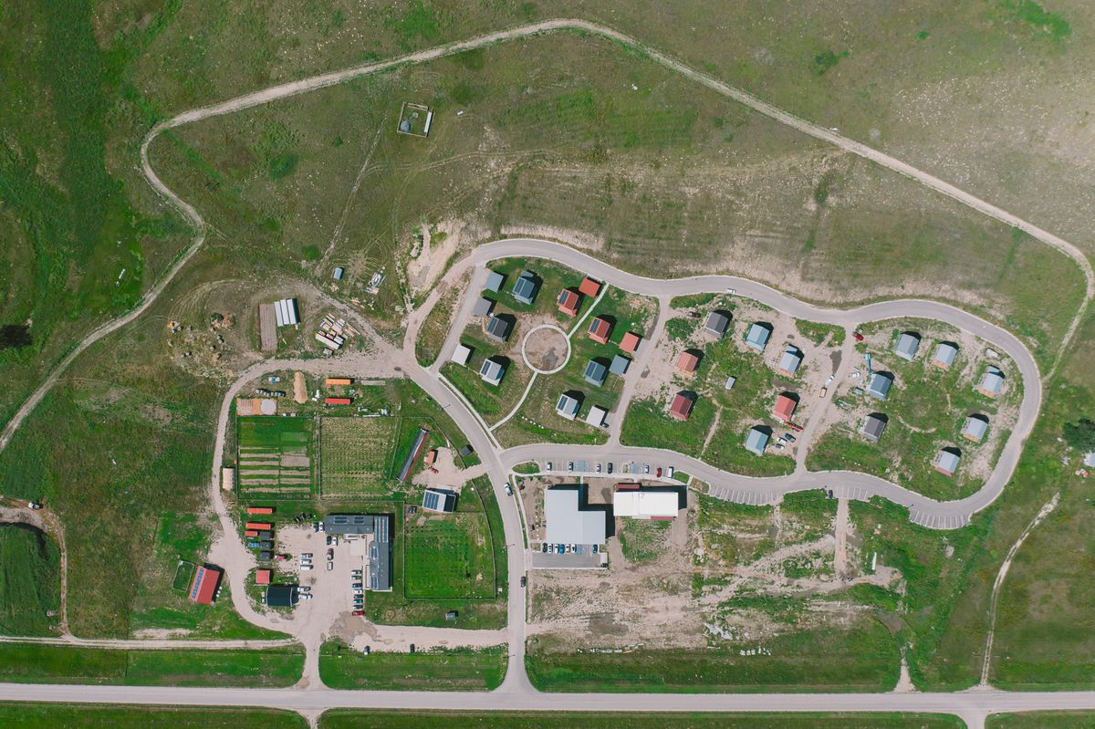 """The Thunder Valley Community Development Corporation is developing a 34-acre """"regenerative community"""" on the Pine Ridge Reservation in South Dakota."""