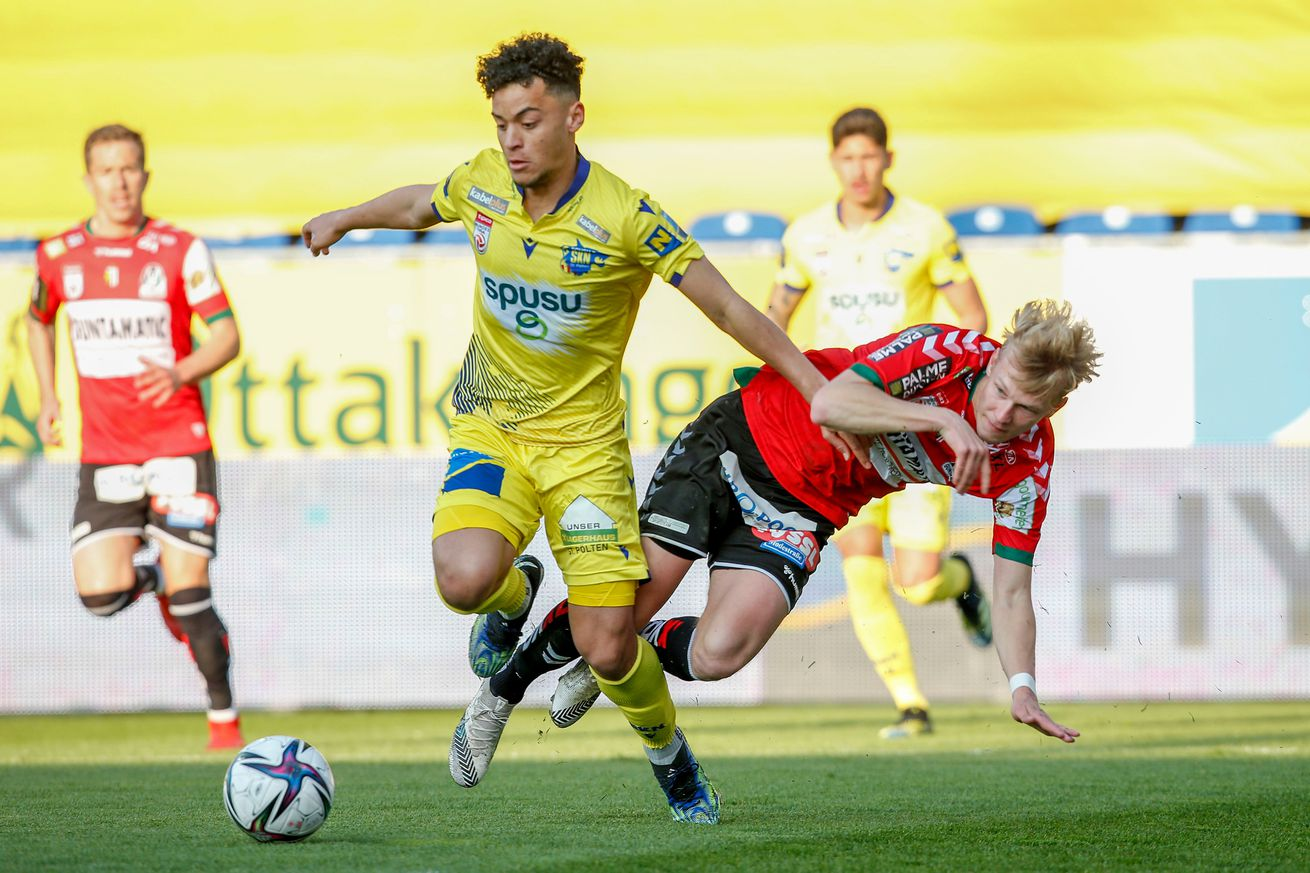 SKN St. Poelten v SV Ried - tipico Bundesliga