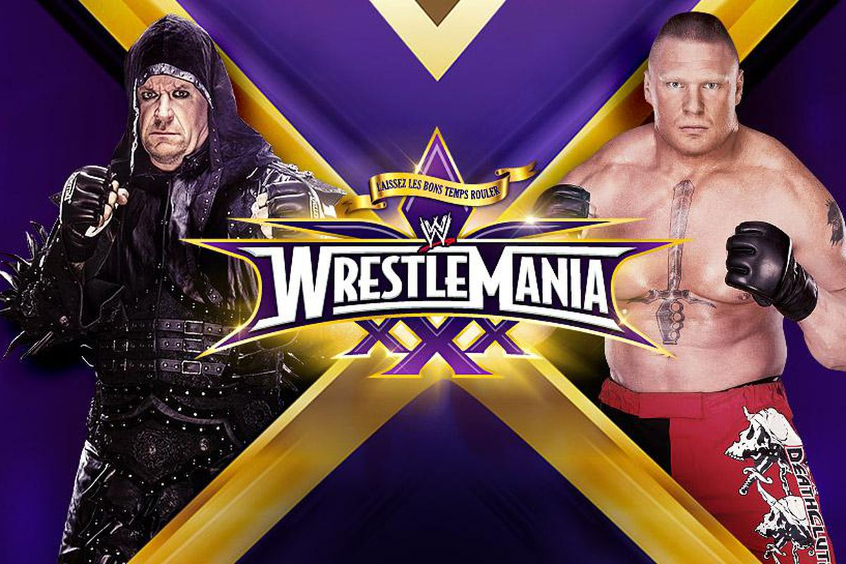 Wrestlemania 30 match card and rumors cageside seats for Mercedes benz superdome wrestlemania 30