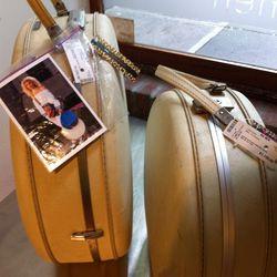 Carrie Bradshaw's travel trunks