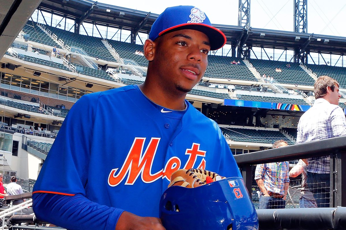 Dominic Smith had the most varied spots in prospect rankings this year.