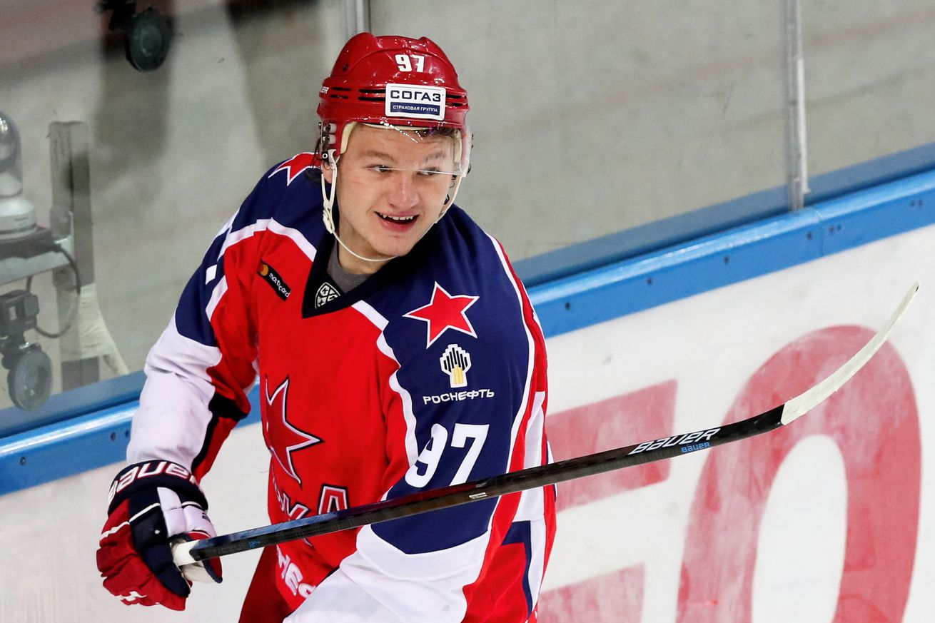 Kirill Kaprizov wraps up another ridiculous regular season in the KHL