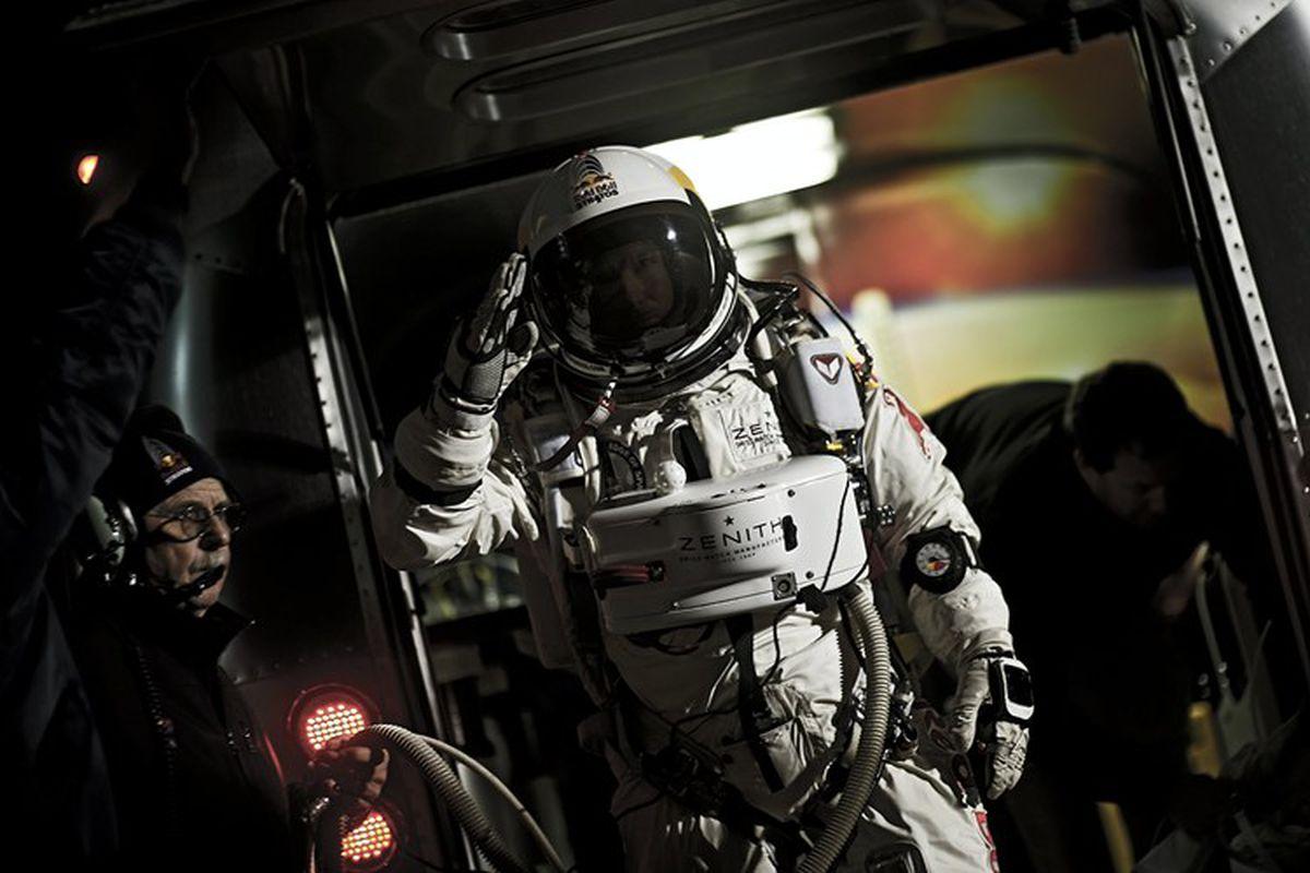 felix baumgartner (red bull stratos)