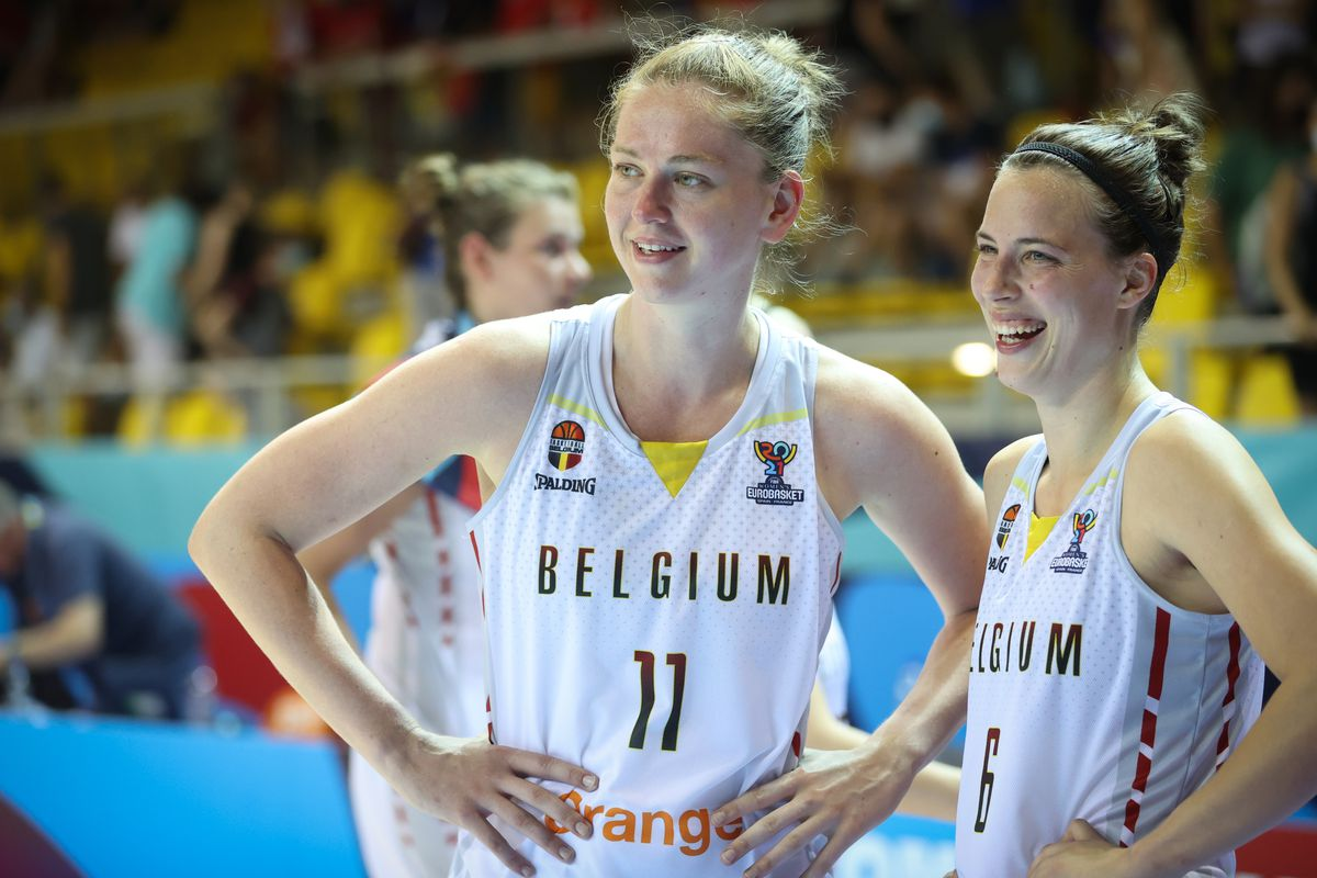BASKET WOMEN EUROBASKET 2021 BELGIAN CATS VS SLOVENIA