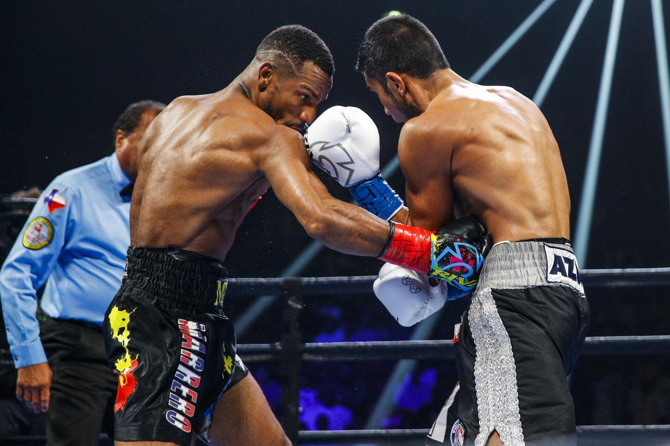 001 Eduardo Ramirez x Claudio Marrero.5 - Marrero beats Ramirez in WBA featherweight eliminator