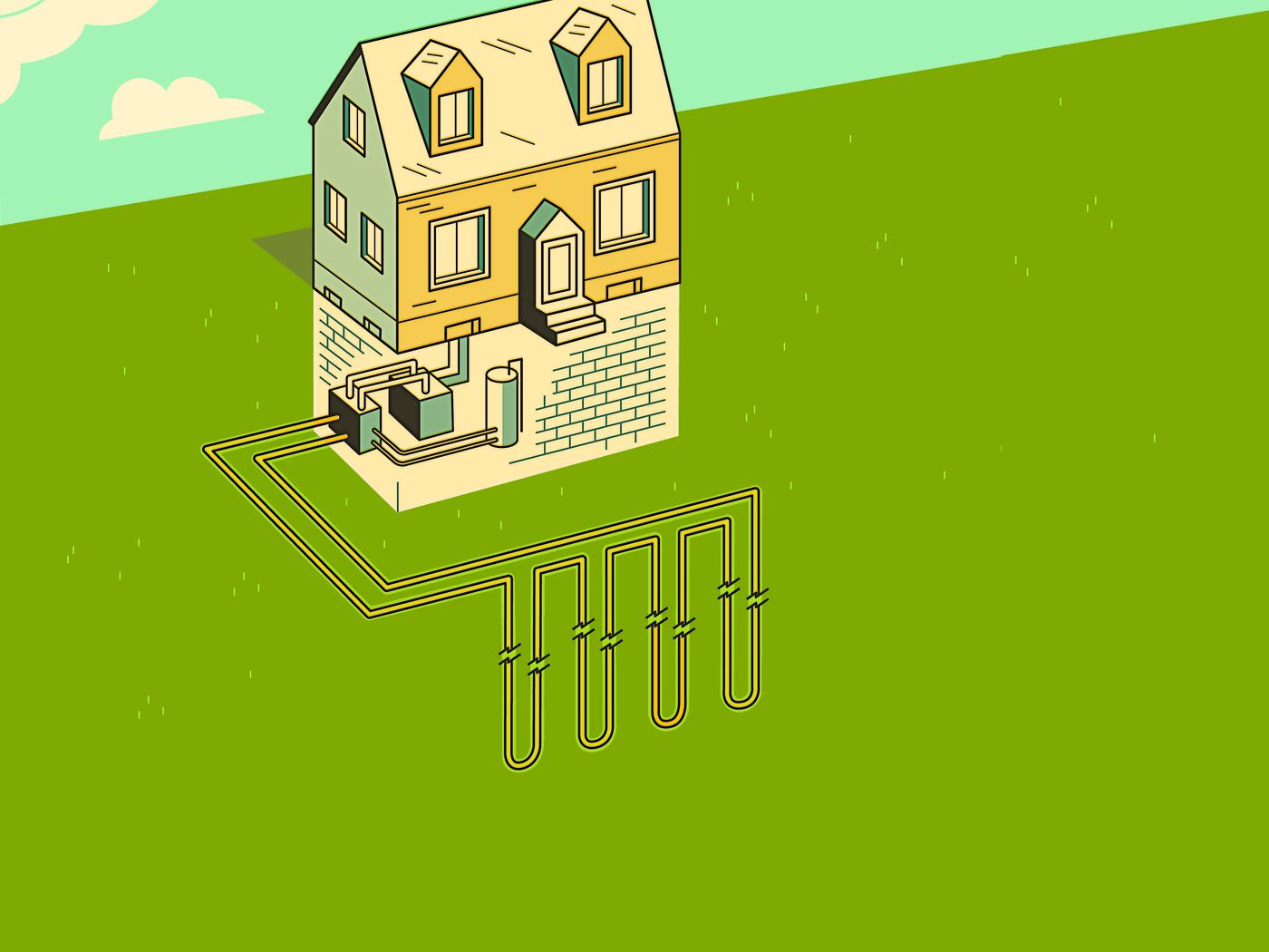 Geothermal Heat Pump: How It Works - This Old House