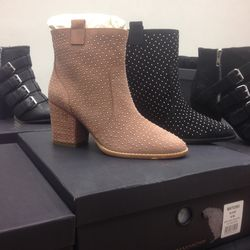 These cute stud-detailed boots are just $100.