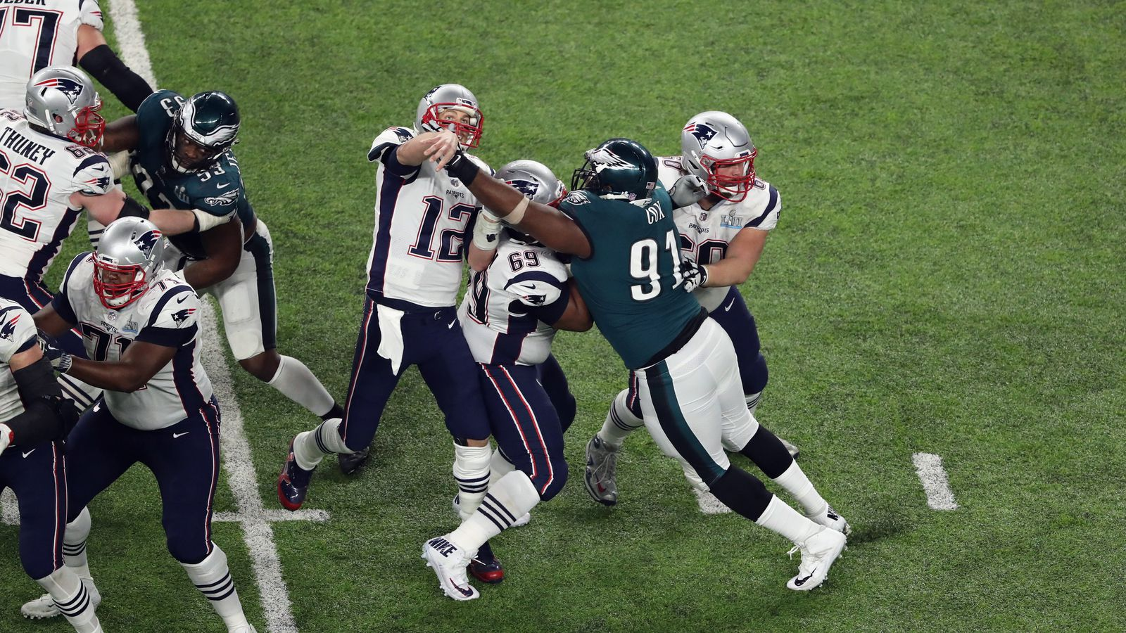 The unheralded plays from the Eagles' Super Bowl win ...