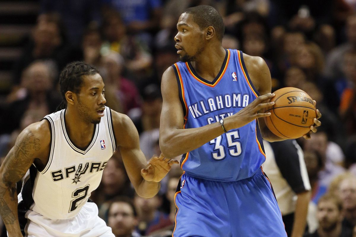 Can you believe that we haven't seen Leonard on Durant since January 22?