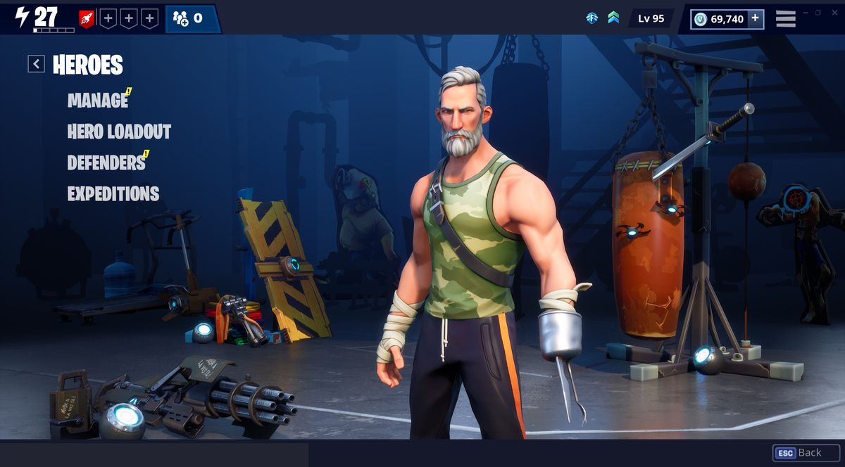 Fortnite's Save the World update will add a new 'Fork Knife