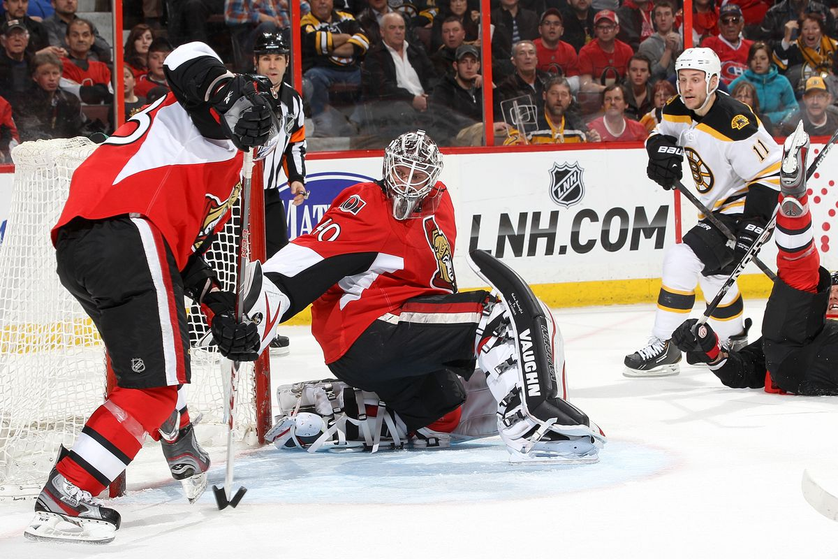 Goaltending and team D have helped the Sens eke out a bunch of games