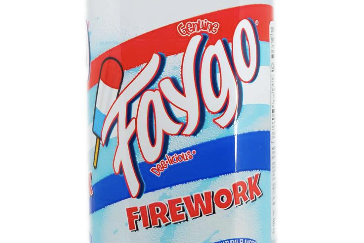 A bottle of Faygo Firework