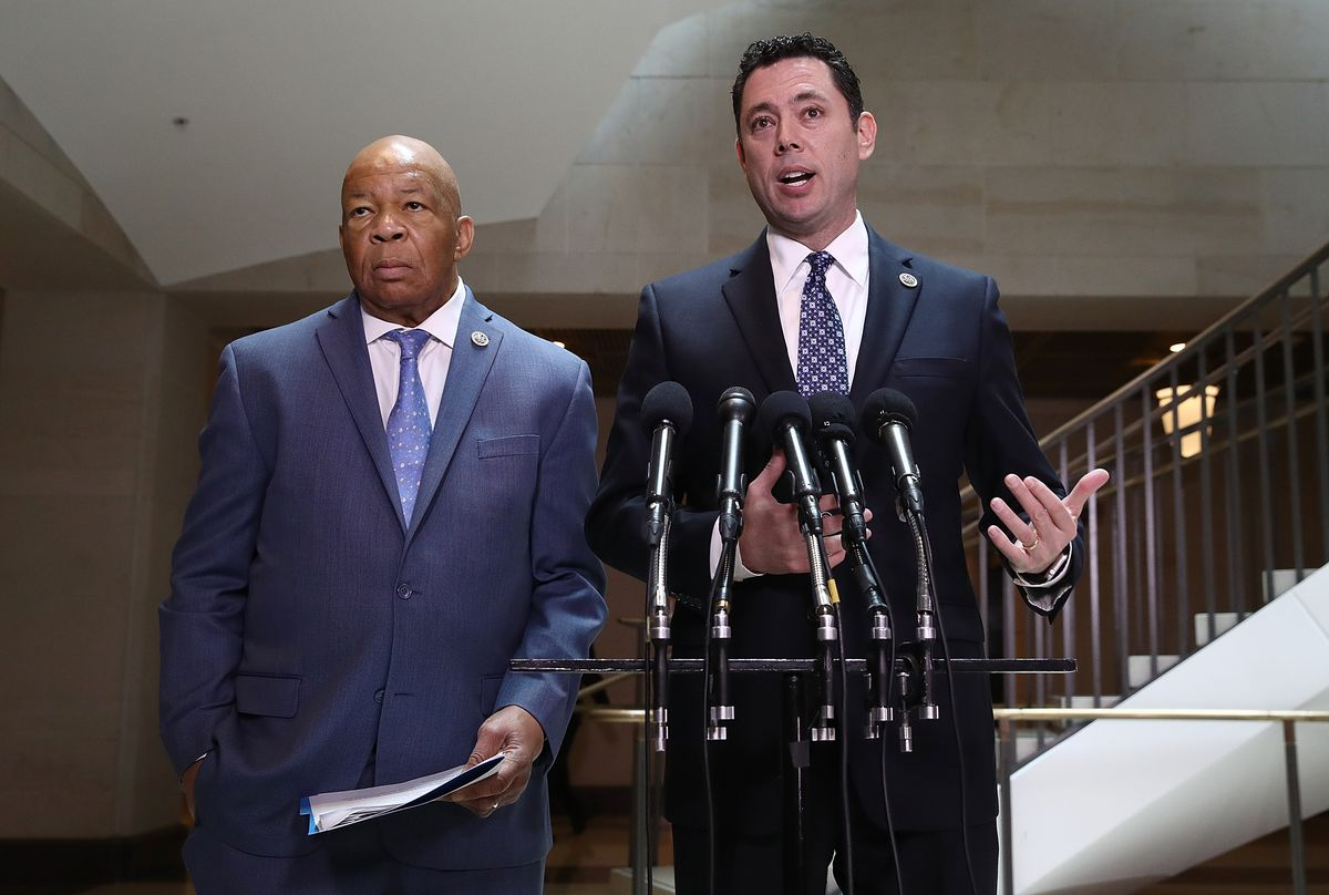 Members Of The House Oversight Cmte Deliver Remarks To Press