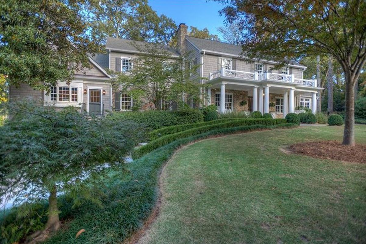 A renovated and massive traditional home for sale in Buckhead's Paces neighborhood.