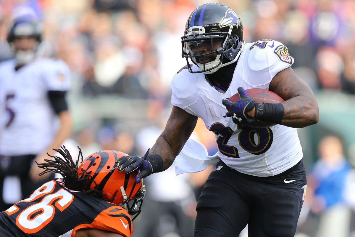Terrance West opens the scoring with a rushing touchdown following